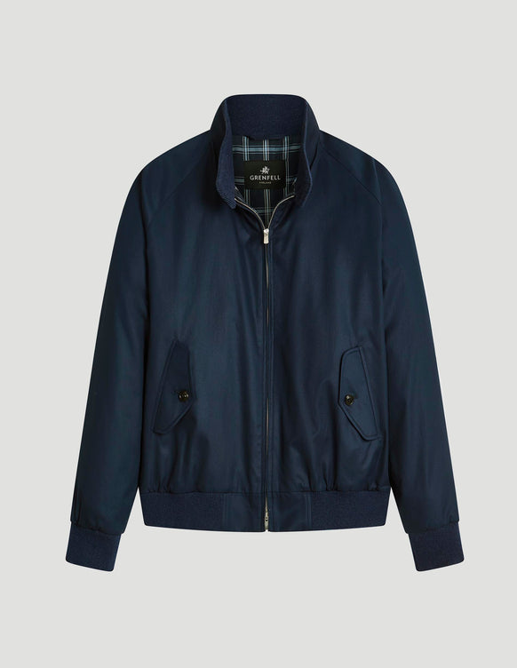 Harrington (Standard Fit) Grenfell Cloth French Navy