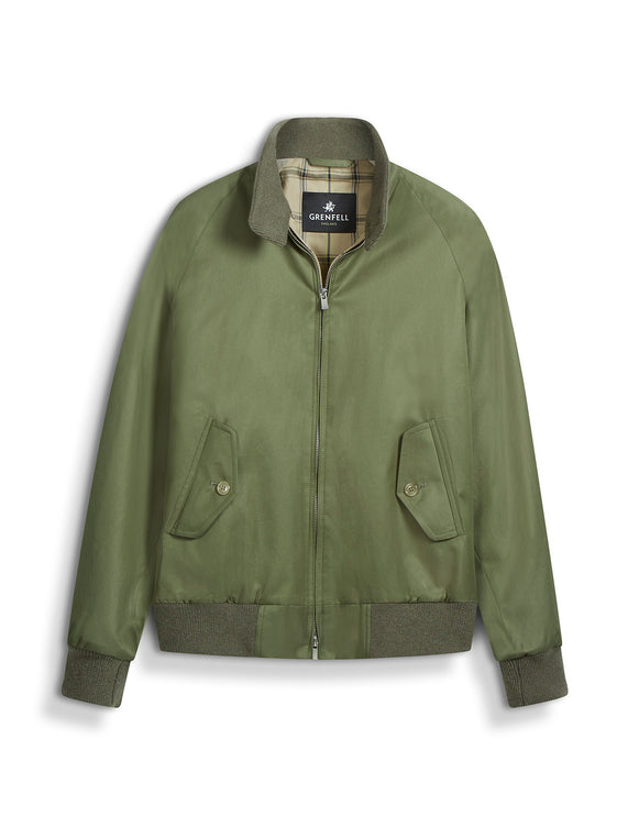 Harrington (Standard Fit) Grenfell Cloth Olive
