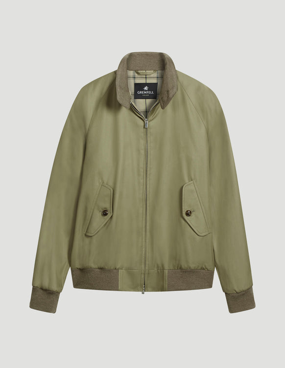 Harrington (Standard Fit) Grenfell Cloth Beige
