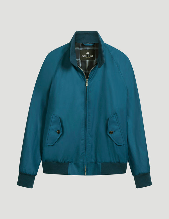 Harrington (Classic Fit) Grenfell Cloth Moroccan Blue