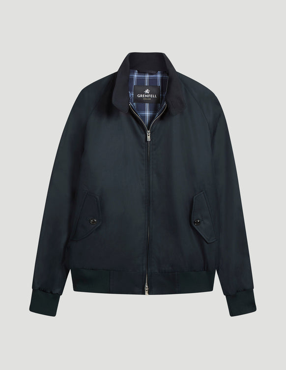Harrington (Standard Fit) Grenfell Cloth Navy