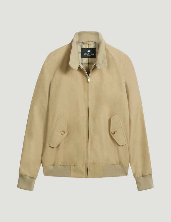 Harrington Peached Cotton Beige