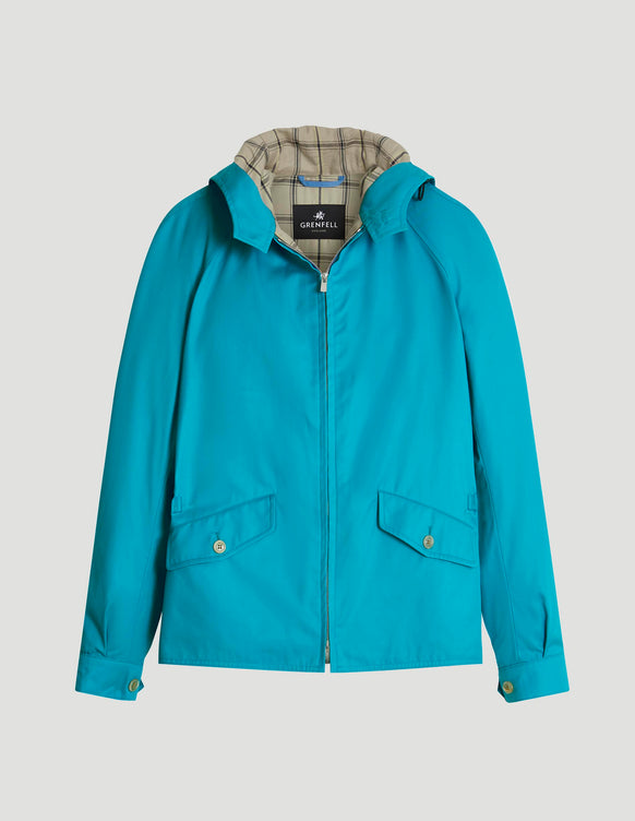 Hooded Golfer Grenfell Cloth Aqua
