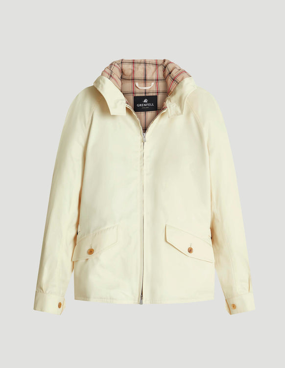 Hooded Golfer Grenfell Cloth Off-White