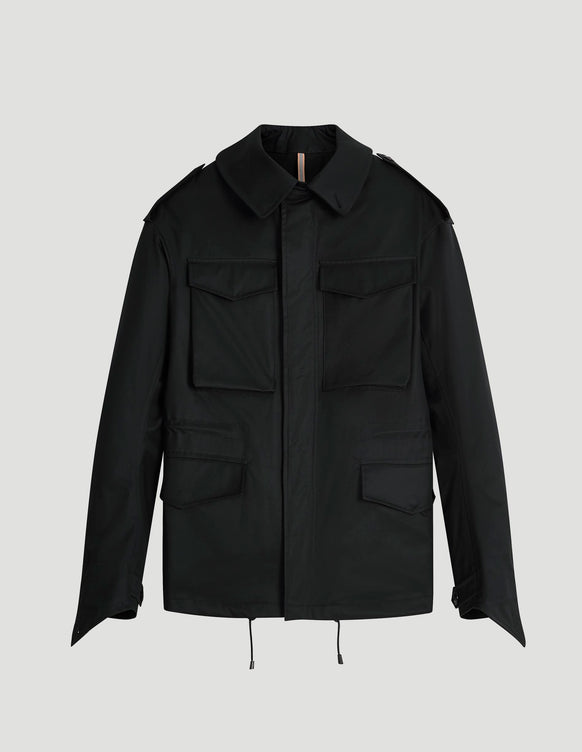 M-65 Grenfell Cloth Black