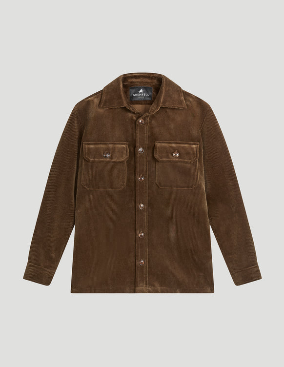 Overshirt Corduroy Tan