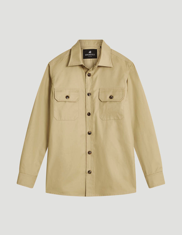 Overshirt Grenfell Cloth Biscuit