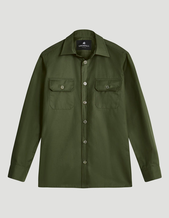 Overshirt Grenfell Cloth Green