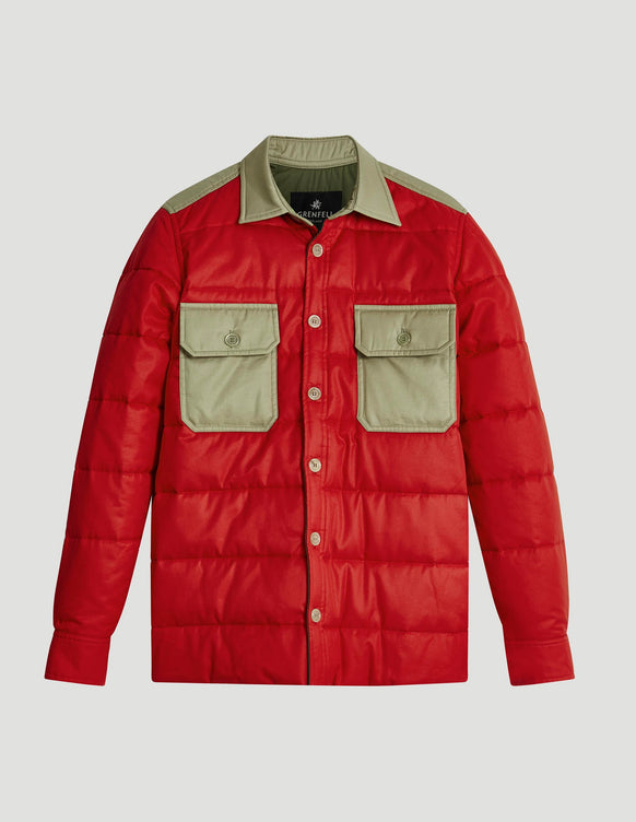 Overshirt Insulated Grenfell Cloth Red