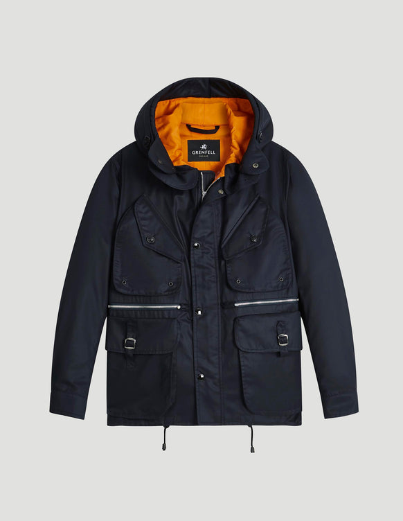 Pembroke Grenfell Cloth Navy & Orange