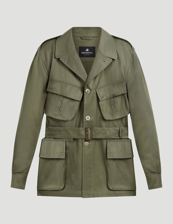 Sahara Grenfell Cloth Olive Washed