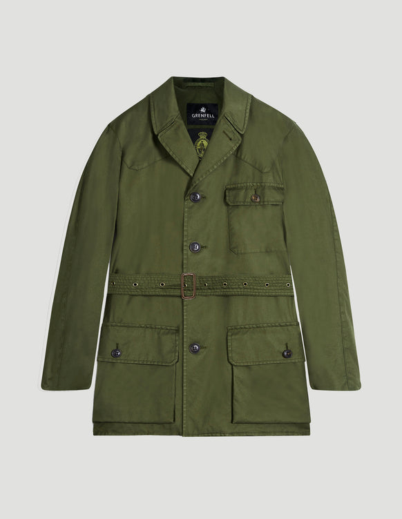 Shooter Grenfell Cloth Laundered Green