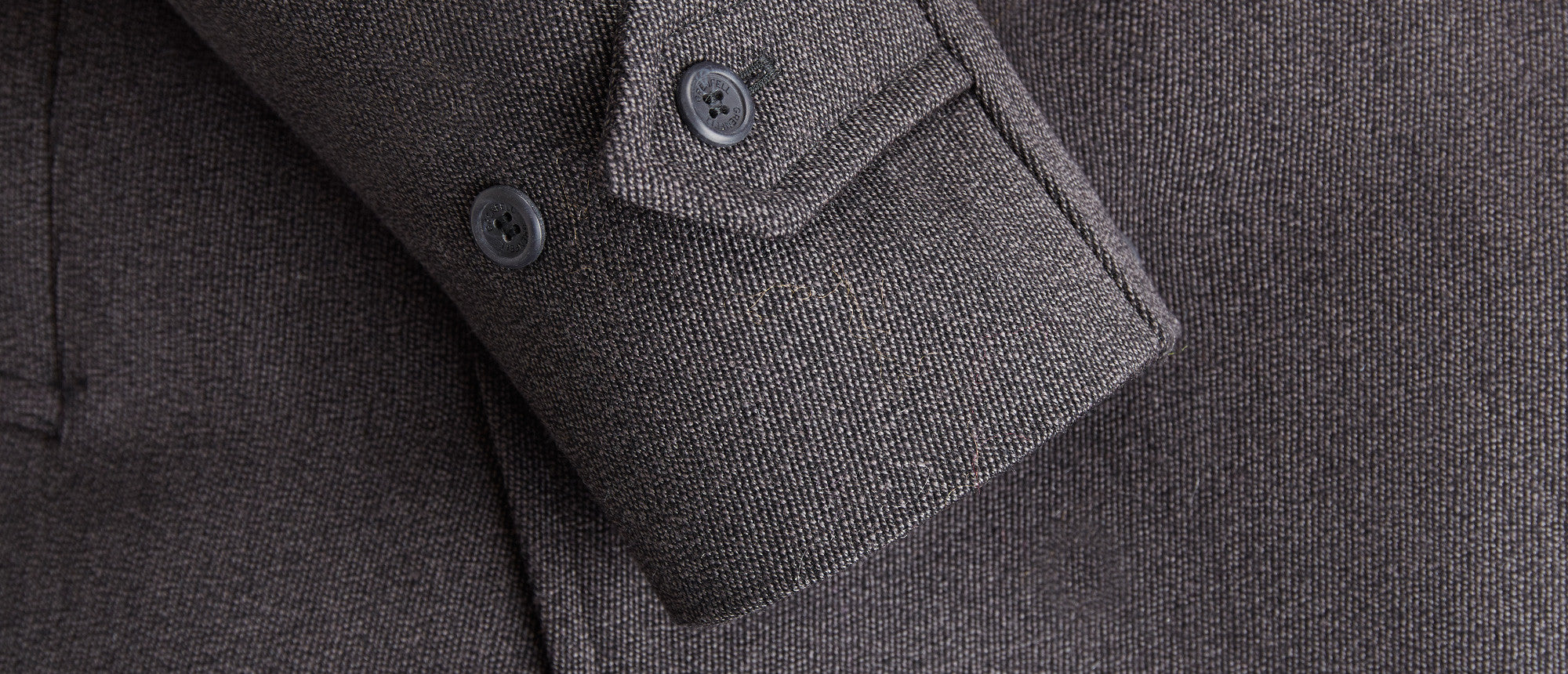 Snowdonia Keepers Tweed with Alpaca Lining Black