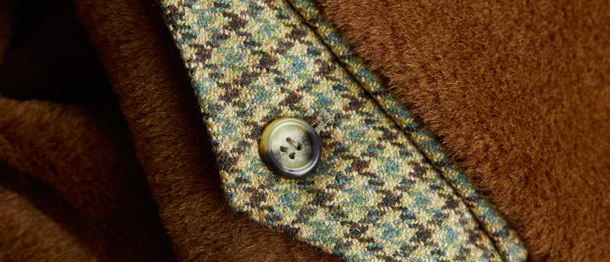 Snowdonia Tweed with Alpaca Lining