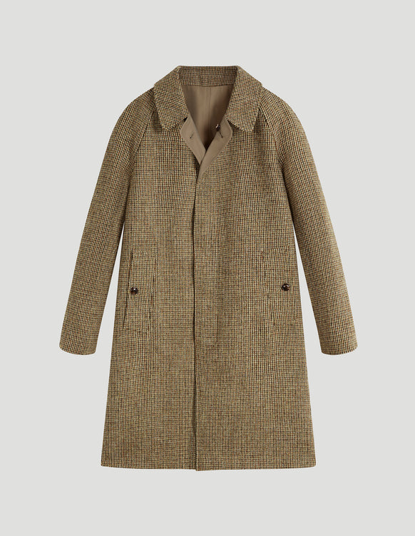 Stirling (Classic Fit) Harris Tweed & Grenfell Cloth Beige