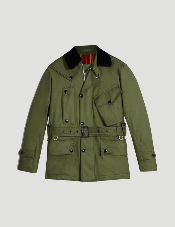 Tourer Grenfell Cloth Green