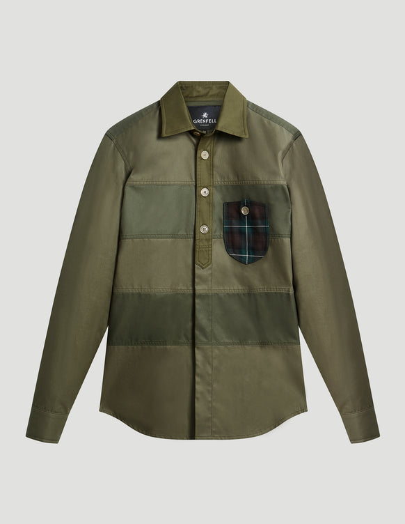 Wellington Grenfell Cloth Olive Green