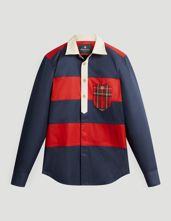 Wellington Grenfell Cloth Red Blue
