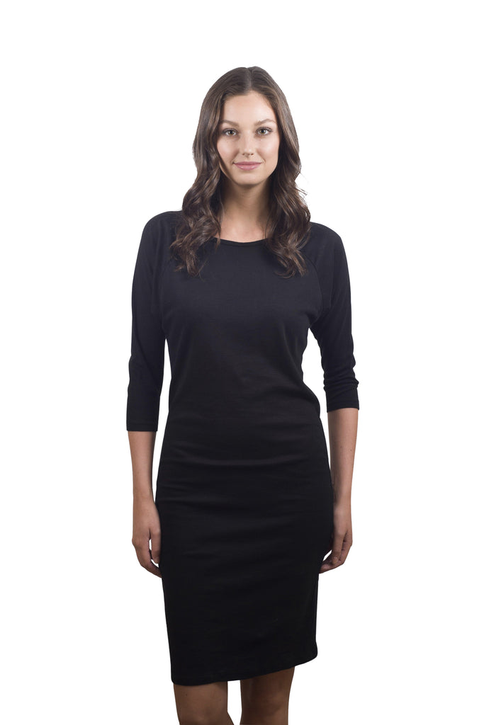 Tapered Dolman Dress