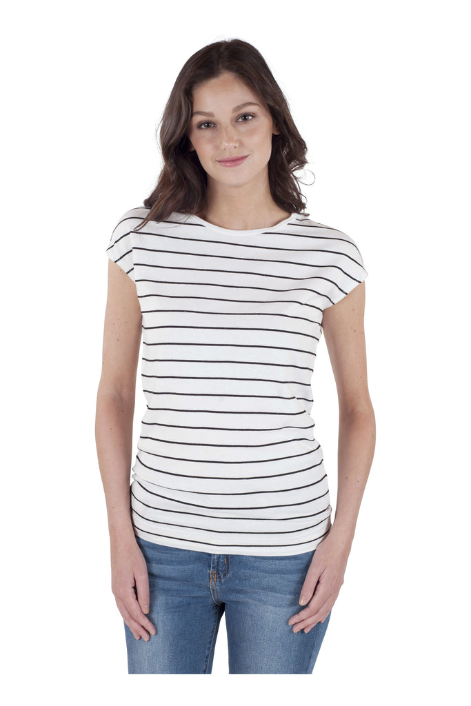 Stripe Tapered Tee