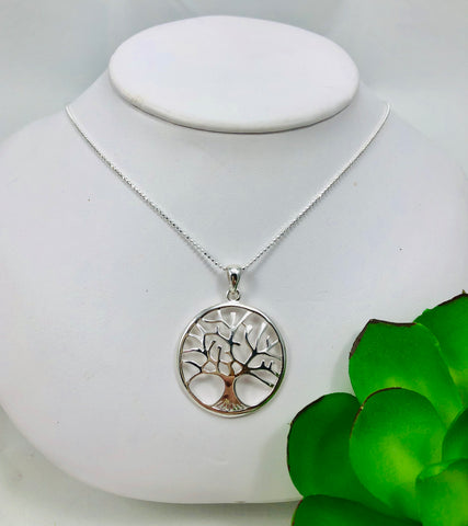 Tree of Life Necklace Large