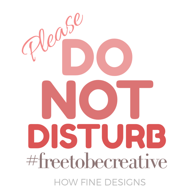 Overcoming Creative Blocks.  Be Free to be Creative