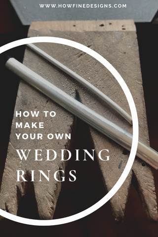 How to make your wedding rings