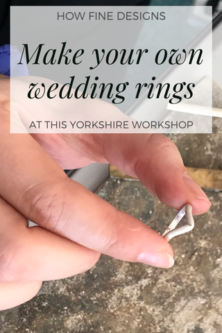 Wedding ring making workshop in Harrogate, North Yorkshire