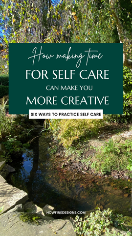 How making time for self care can make you more productive. 6 ways to practice self care