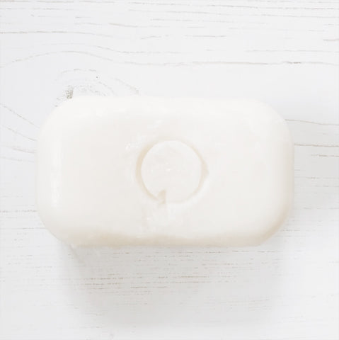 Soap with ring impression