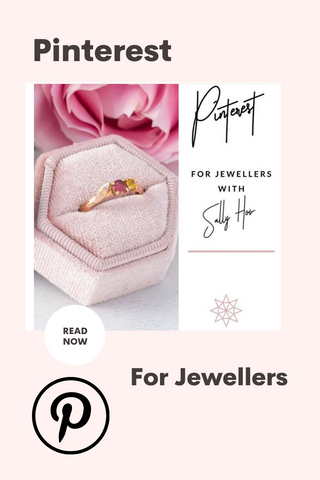 Pinterest for Jewellers graphic