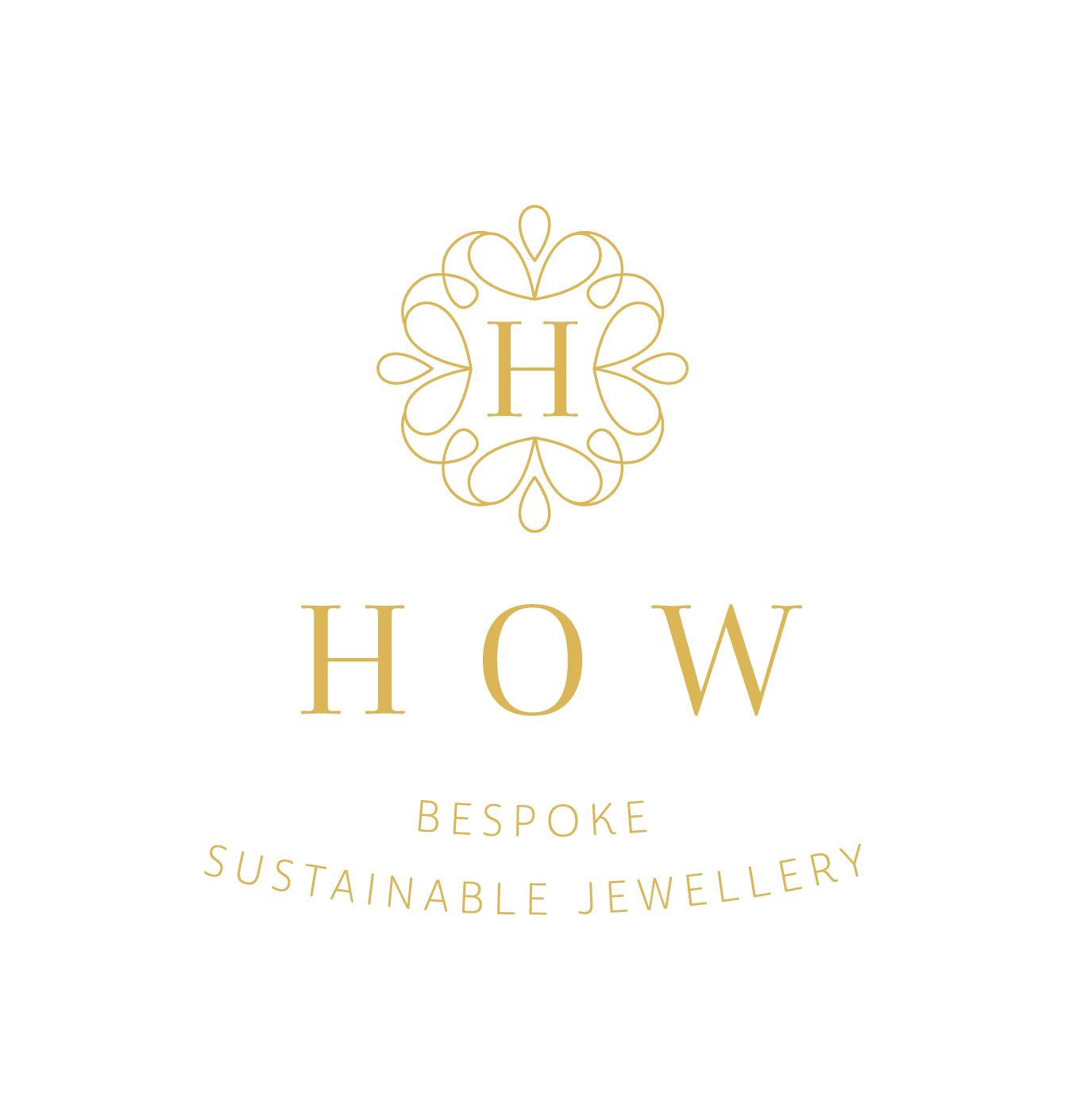 How Jewellery logo Bespoke Sustainable Jewellery