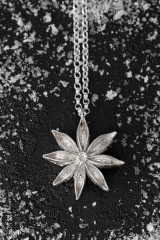 Selling in a pop up shop 10 things I want you to know after my experience at John Lewis - Star Anise Silver necklace