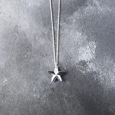 Limited Edition North Star Silver necklace