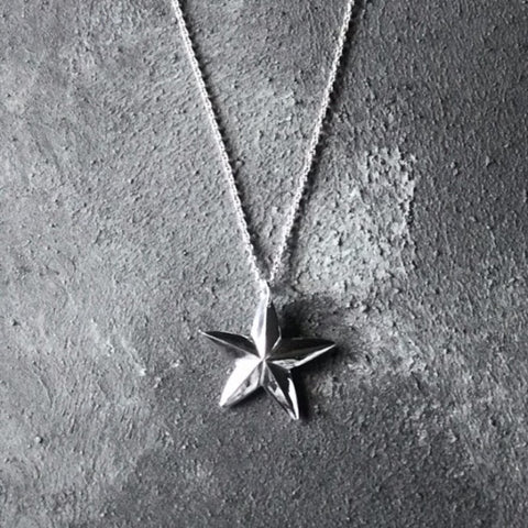 North Star Limited Edition Silver necklace