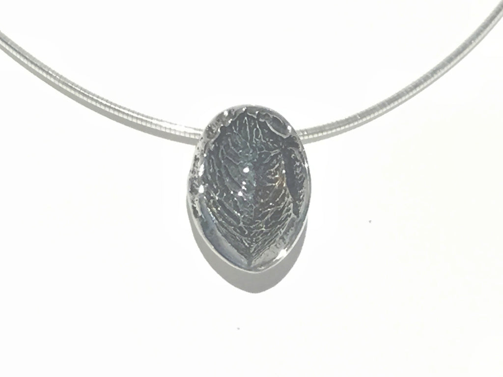 Nuts about You Silver Necklace