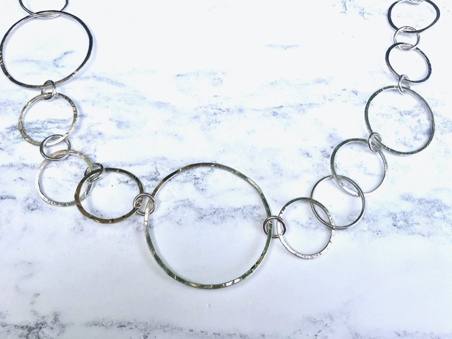 Full Circle Silver necklace