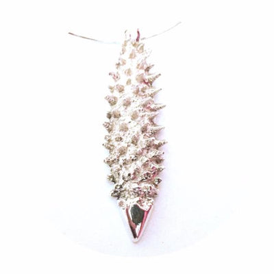 A Little Bit Spikey Necklace Pendant Silver