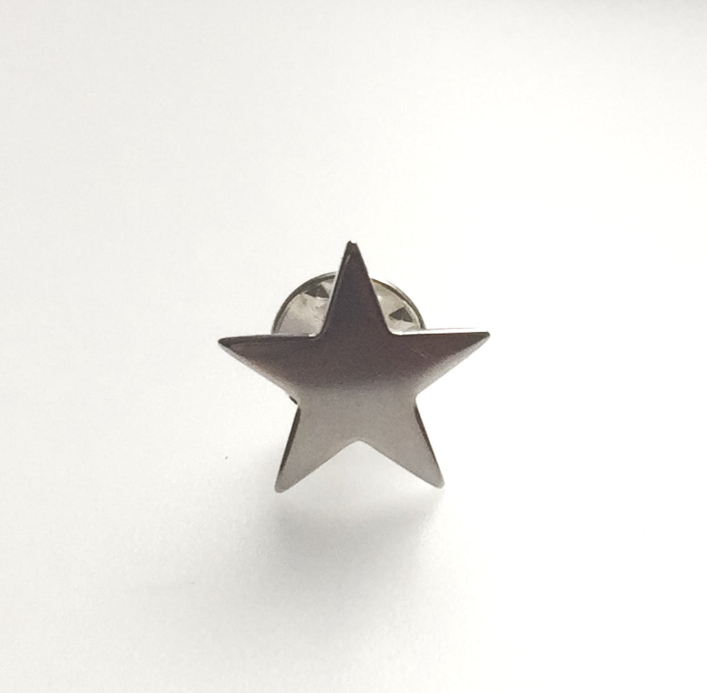 You're a Star Empowering Lapel/Scarf/Tie Pin Silver