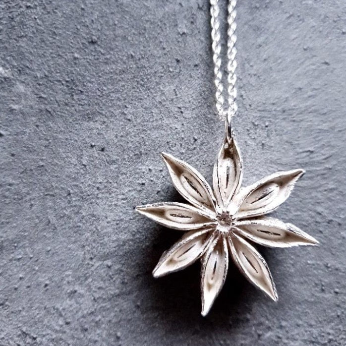 Limited Edition Silver Oriental Star