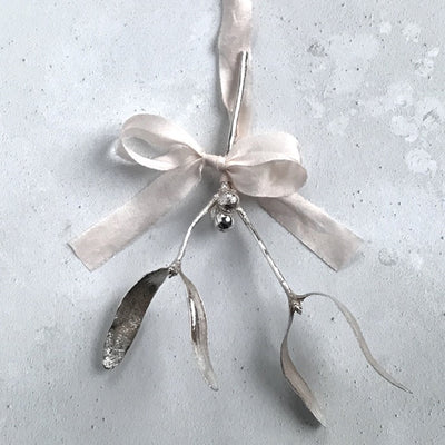 Sterling Silver Mistletoe Limited Edition