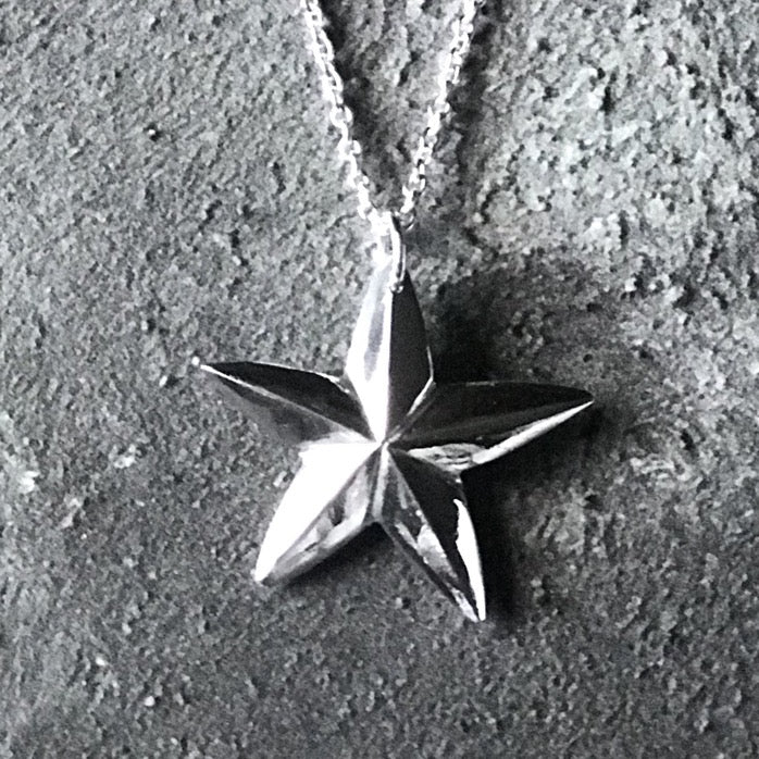 Limited Edition Silver North Star Necklace