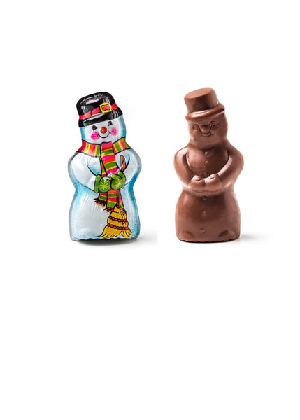 Milk Chocolate Foil Wrapped Snowman