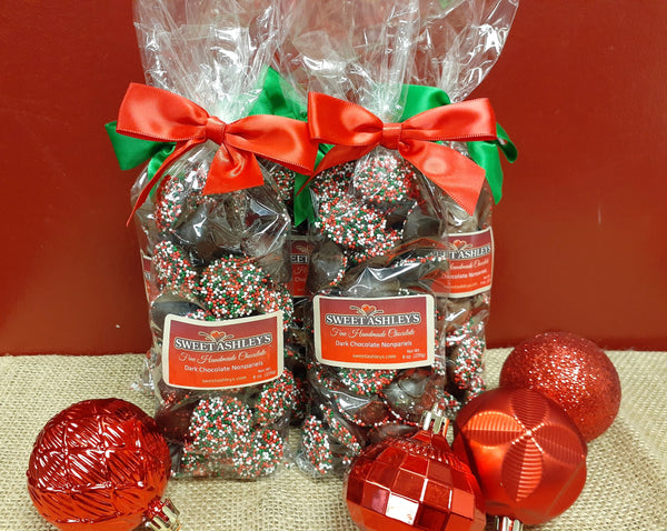 Holiday Nonpareils - 8 oz bag