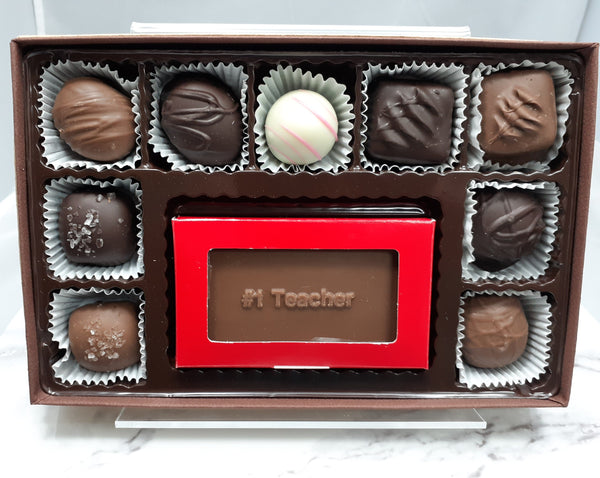 9 ct  Assorted Chocolate with #1 Teacher Bar