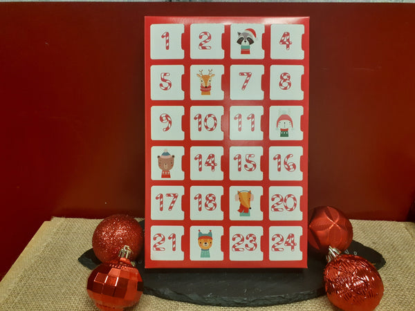 Dark Chocolate Advent/Holiday Count Down Calendar