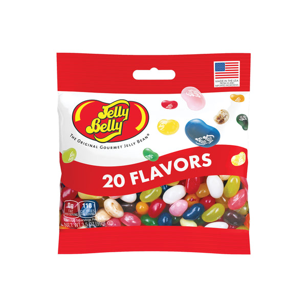 20 Assorted Jelly Bean Flavors 3.5 oz Grab & Go® Bag