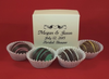 Personalized Truffle Wedding Favor