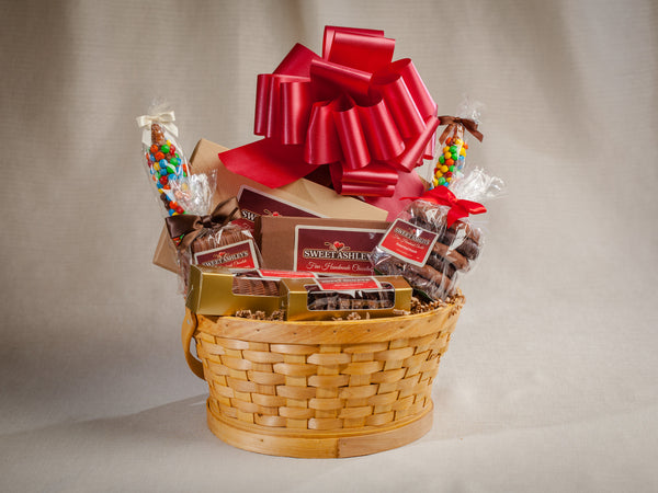 Sweet Ashley's Chocolate – Signature Chocolate Gift Basket
