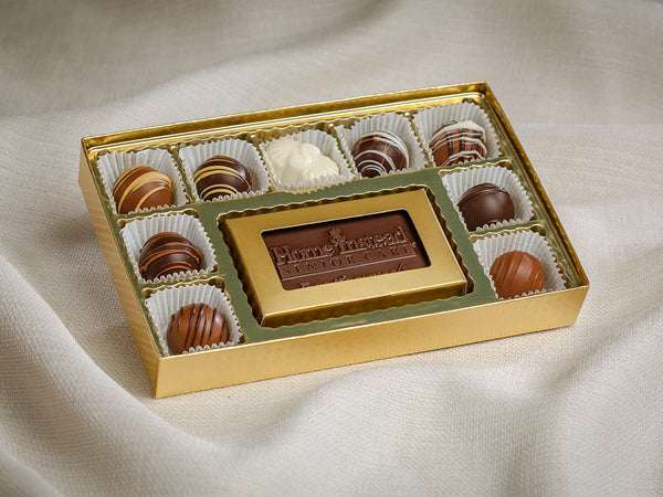 Sweet Ashley's Chocolate – Business Card Truffle Set